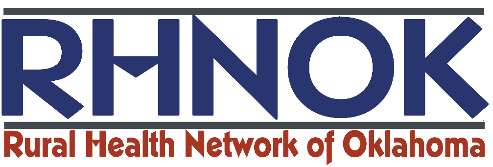 Logo for the Rural Health Network of Oklahoma