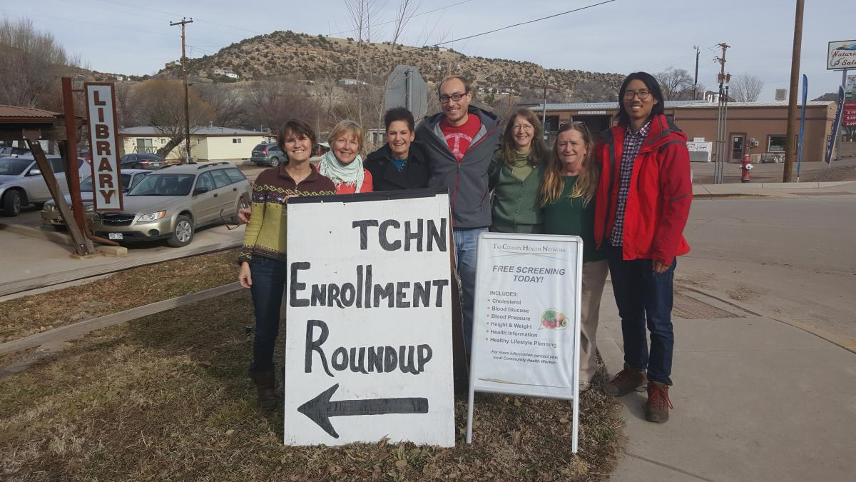 TCHNetwork team members in November 2015 at the Naturita Community Library, a strong network supporter in the West End of Montrose County, CO.