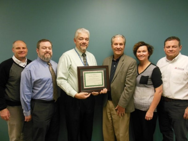 Staff at Gunnison Valley Hospital receive CAH Recognition certificate