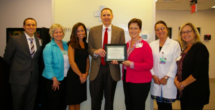 PMH executives accept CAH Recognition Certificate from North Carolina Flex Program officers